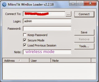setting mikrotik rb750